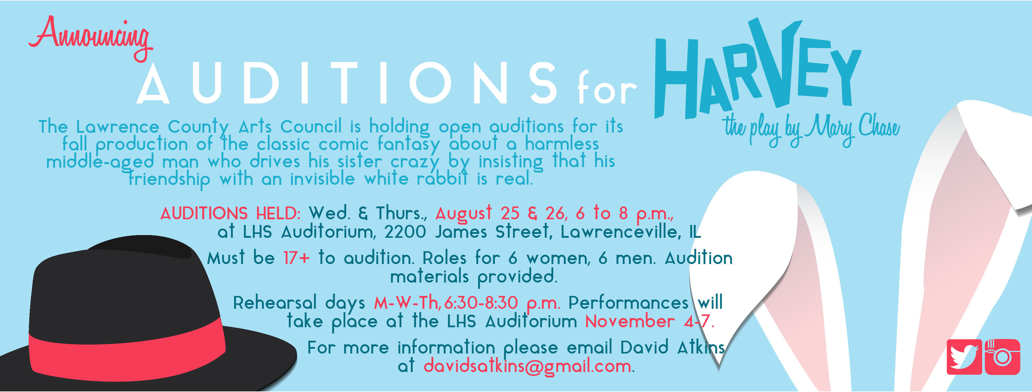 Harvey Auditions