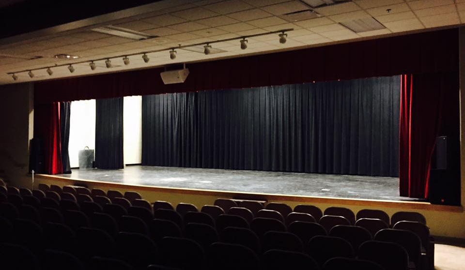 Lawrence County Arts Council Theatre Stage